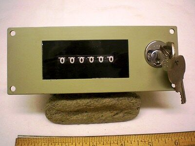 Event Counter 6 Digit Resettable With Key Only 240v Ac General Controlsitt