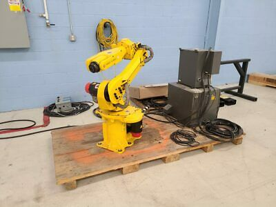 Fanuc M-6i Robot W R-j3 Robot Controller - Only 881 Hours