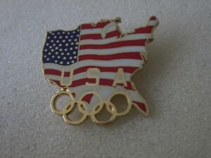 1996 ATLANTA OLYMPICS USA pin badge - Italia - 1996 ATLANTA OLYMPICS USA pin badge - Italia