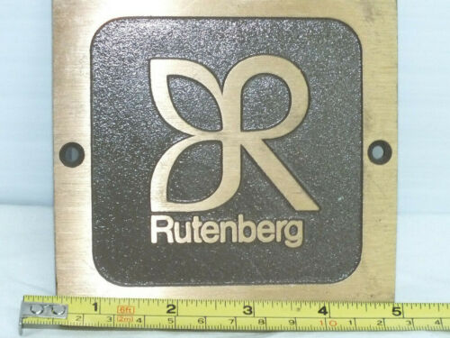 Rutenberg Brass Plate Real Estate