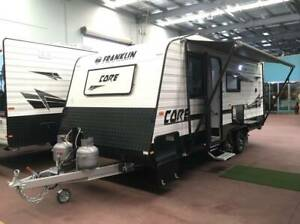 #17033******2019 FRANKLIN CORE 19'6 FAMILY BUNK SHOWER TOILET VAN Burpengary Caboolture Area Preview