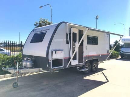 #16589 2018 WINNEBAGO BURKE 'X-COUNTRY' OFFROAD ENSUITE CARAVAN Burpengary Caboolture Area Preview