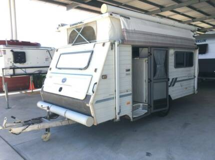 1996 COROMAL APOLLO SINGLE AXLE FREE CAMPER POP TOP CARAVAN Burpengary Caboolture Area Preview