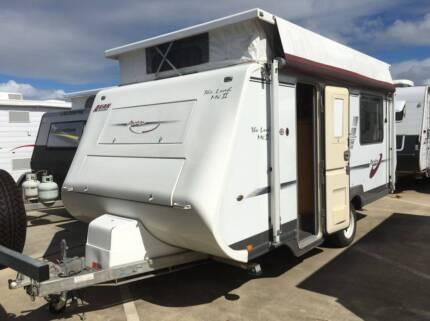 #16957 AVAN LEAH SINGLE AXLE SINGLE BEDS POP TOP CARAVAN Burpengary Caboolture Area Preview