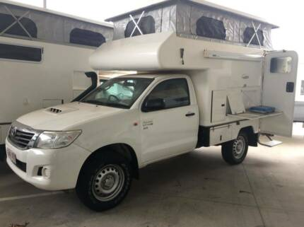#16981 TALVOR ADVENTURE CAMPER / TOYOTA HILUX 4x4 POP TOP Burpengary Caboolture Area Preview