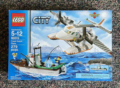 New LEGO City Coast Guard Plane (60015)