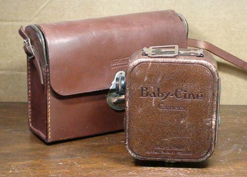 1926 Pathe 9.5mm Baby Cine Movie Camera: Antique Video Equipment, Continsouza Co