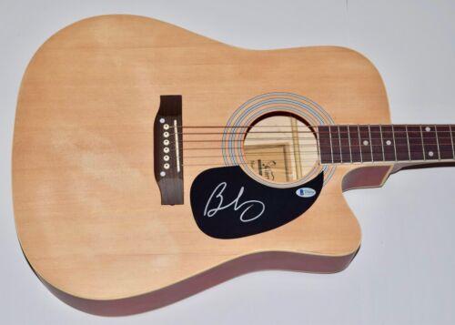 Brad Paisley Signed Autographed Full Sized Acoustic Guitar BAS Beckett COA