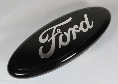 "FORD F150 BLACK EMBLEM FRONT GRILLE/REAR TAILGATE NEW 9"" BADGE sign symbol logo"