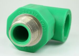 Aqua-plus-PPR-T-Unidad-20mm-AG-1-2-pulgadas-20mm-Conducto-de-agua