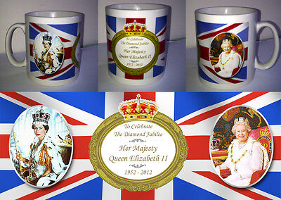 QUEEN ELIZABETH II - DIAMOND JUBILEE MUG (No.1) 2012