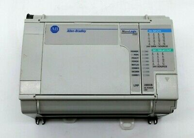 Allen Bradley 1764-28bxb Micrologix 1500 Base Unit W1764-lrp Processor