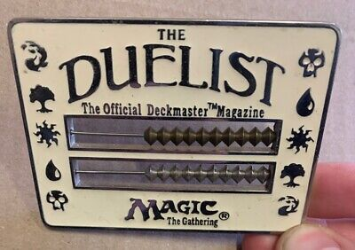 Duelist Abacus White Life Counter 1996 Magic Rare MTG Reaper Miniatures