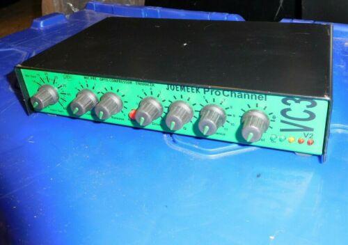 Joe Meek VC3 Pro Channel Microphone Pre-Amp Compressor Enhancer JOEMEEK Studio