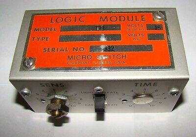 1pc. Honeywell Tr3 Micro Switch Logic Module 15v Used
