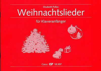 Weihnachtslieder für Klavieranfänger - Carus-Verlag - CV18507 - 9790007089603