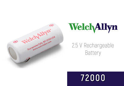 72000 Welch Allyn 2.5v Rechargeable Nicd Battery Red 900mah New