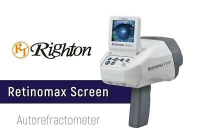 Righton Retinomax Screeen Autorefractor Includes All Accessories New