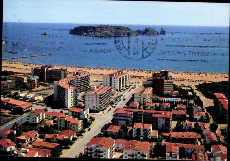 Postcard Ak Unused Coloured Spain Costa Brava Estartit