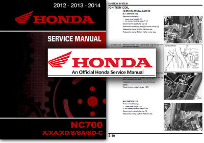 Honda NC700X Service Workshop Repair Shop Manual NC 700 X 2012 2013 2014