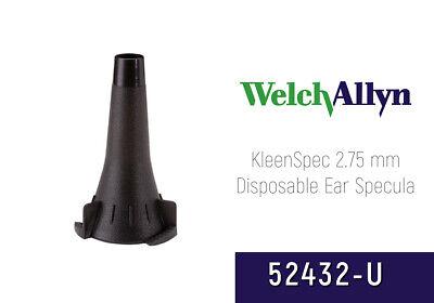 Welch Allyn Kleenspec Otoscope Specula 52432-u Pediatric 2.75 Mm Bag Of 34 Pcs