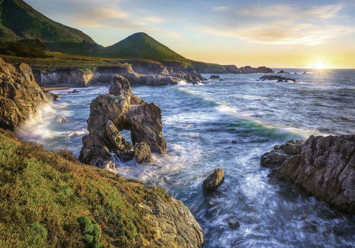 ravensburger sunset sur puzzles jigsaw puzzle 1000 adult california piece coastline 1000pc brand 1001puzzle adults