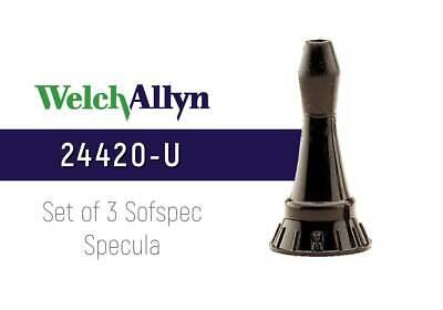 Welch Allyn 24420-u Reusable Ear Specula Set Of 3 Pcs New