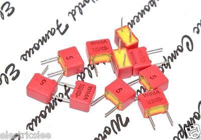 TSC 2500P Film Radial Capacitor 4pcs 2500PF 2.5nF PS 125V 5/%  Polystyrene