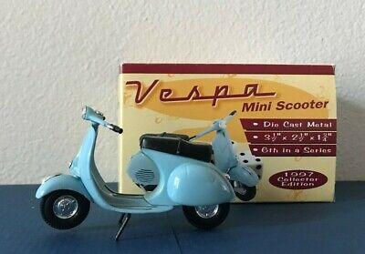 1997 Vespa Mini Scooter Die Cast Metal  Xonex 6th in series