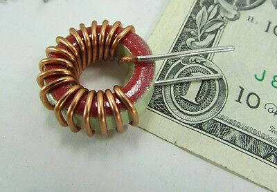 5 Large Copper Wire Wound Ferrites Chokes Filterstoroids Inductors Electronics