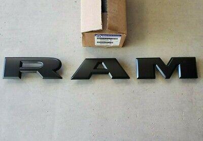2019-2021 Dodge Ram 2500,3500 Heavy Duty Flat Black Grille N/Plate Letters,OEM
