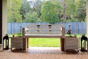 Park Bench and Planter Boxes Carrara Gold Coast City Preview