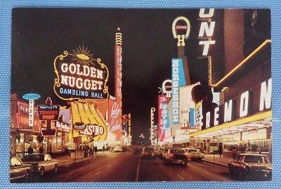 Fremont Street in Downtown Las Vegas - Jumbo Postcard