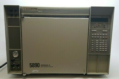 Hp Agilent 5890a Series Ii Gas Chromatograph Gc With Comp. Software Manuals