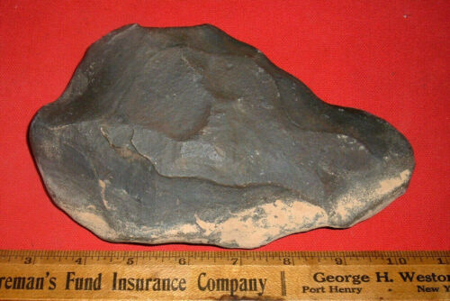 """Choice (7""""+) Paleolithic Acheulean Early Man Axe, Prehistoric African Artifact"""
