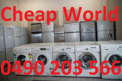 WASHER & FRIDGE- Free delivery & warranty CHEAP WORLD Burwood Burwood Area Preview