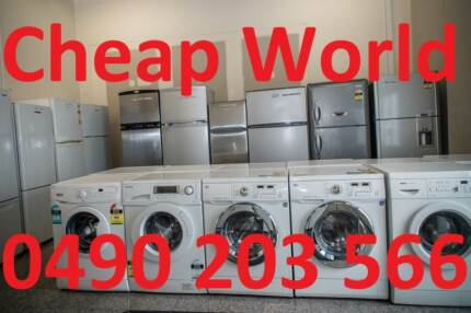 CHEAP USED  WASHER & FRIDGE- Free delivery & warranty CHEAP WORLD Burwood Burwood Area Preview