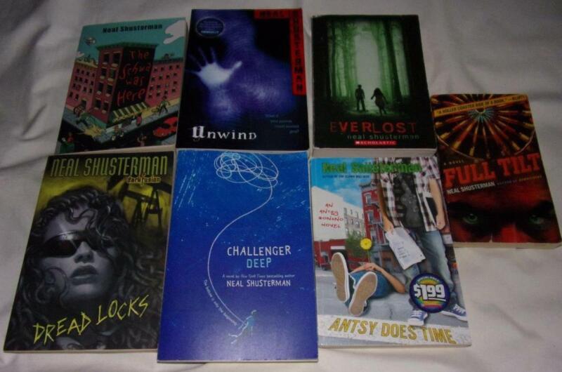 HUGE set of 7 Neal Shusterman chapter books