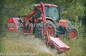 Flail Boom Mower:Bush Hog RMB1660-1,Tractor 3-Pt,PTO Powered,47