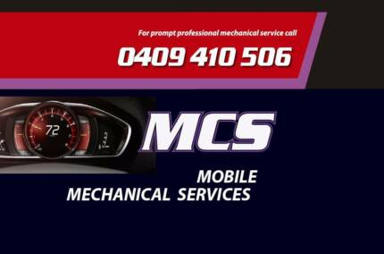 Mobile Roadworthy - MCS Mechanical and Safety Inspections
