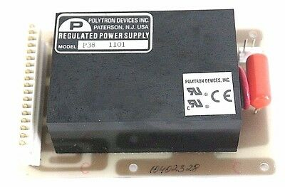 Polytron Devices Model P38 1001 Regulated Power Supply 748-7300103 Board