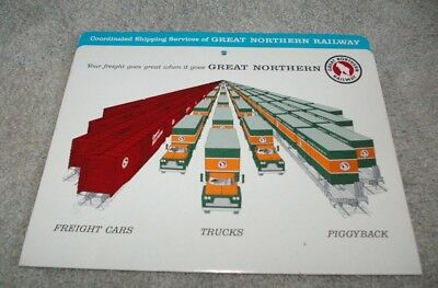 Great Northern Railroad Piggyback/ Trucking Coordinated Shipping Location (Great Northern Locations)