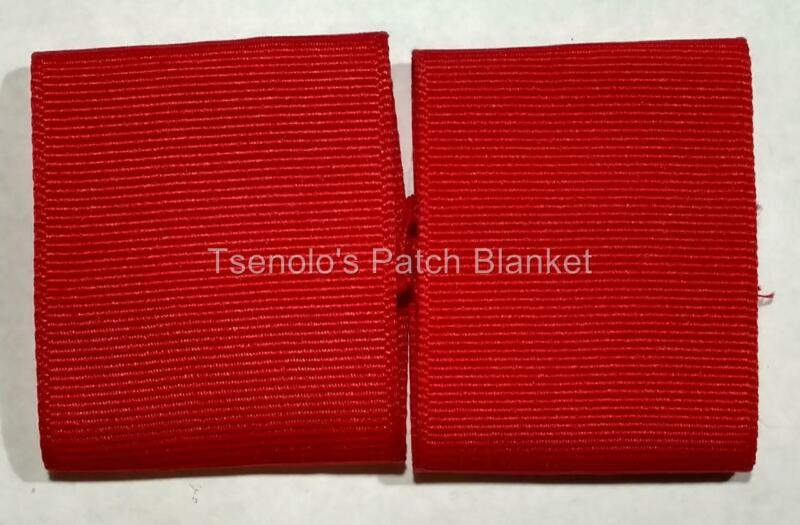 Red Boy Scout Shoulder Loops FREE SHIPPING