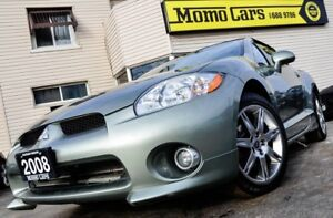 2008 Mitsubishi Eclipse GT-P! Spyder! MANUAL! ONLY $158/bi-weekl