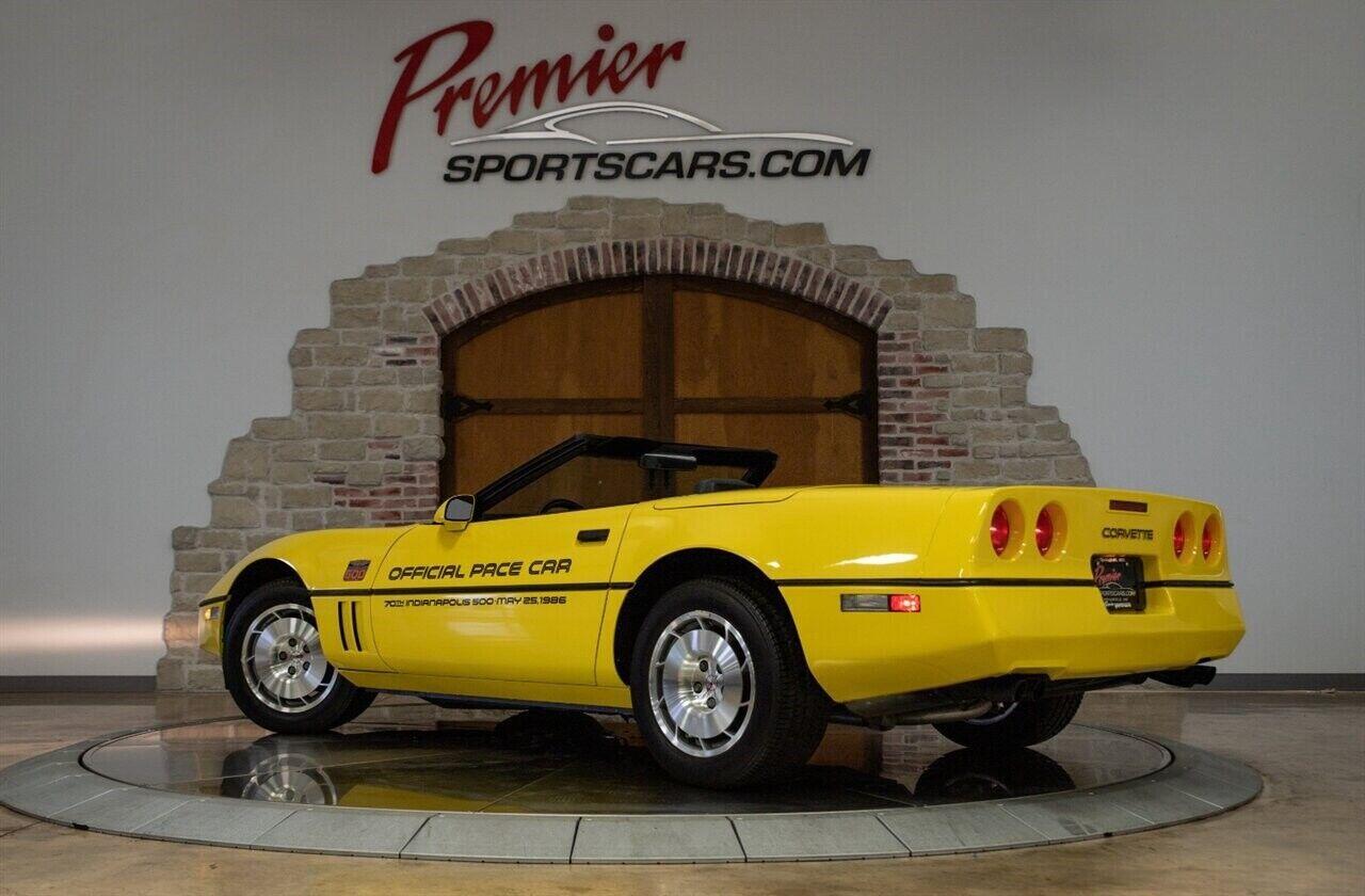 1986 Yellow Chevrolet Corvette   | C4 Corvette Photo 7