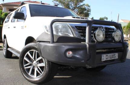 2012 Toyota Hilux Ute 4X4 TURBO DIESEL REGO AND RWC