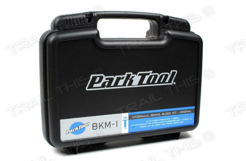 Park Tool BKM-1 Mineral Oil Pro Bicycle Hydraulic Brake Bleed Kit