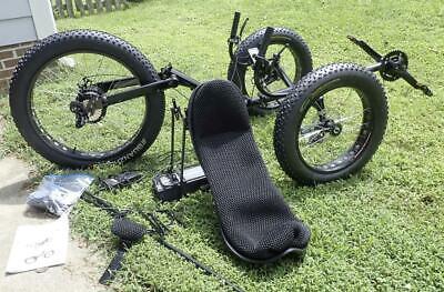 Cozy Trike Fat Tire Folding Electric Recumbent Tricycle - Ne