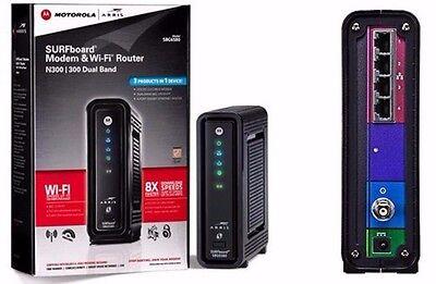 Arris   Motorola Surfboard Docsis 3 0 Modem Wi Fi N Router Comcast   Xfinity Twc