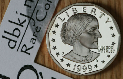 1999 P Susan B Anthony SBA - $1 Dollar Coin - Choice Proof